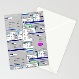Windows Lovers Stationery Cards