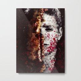Blood and Bone Metal Print