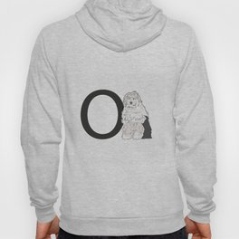 O is for Old English Sheepdog Hoody
