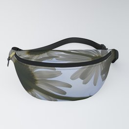 White Daisies Fanny Pack