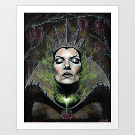 My Queen Art Print