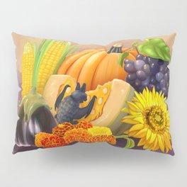 Commisions | Bat autumn harvest Pillow Sham
