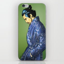 801 MODERN SAMURAI iPhone Skin
