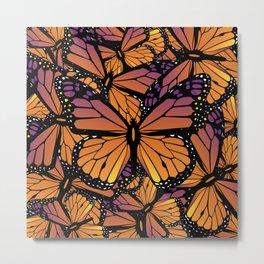 Fields of Monarch Butterflies (Butterfly) Metal Print