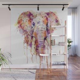 Elephant Head Wall Mural