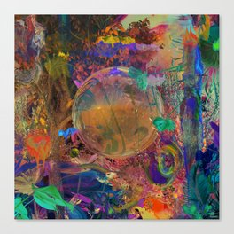 Cortex Canvas Print