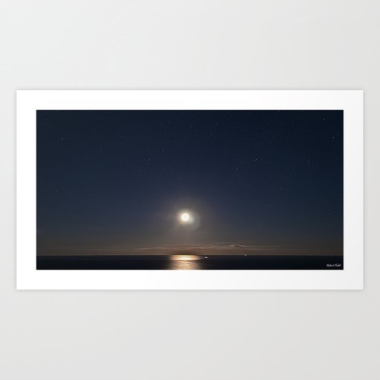 Moon Rising Art Print