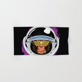 Vintage Space Monkey Hand & Bath Towel
