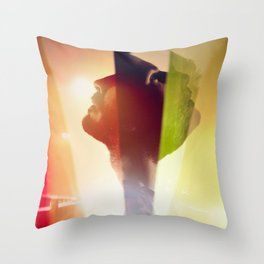 I Believe - Bright Light Bright Light Throw Pillow
