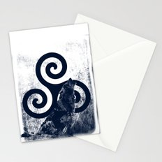 Triskele and The Wolf Stationery Cards