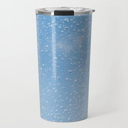 Melting snow drops blue sky Travel Mug