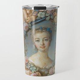 """François Boucher """"Madame de Pompadour"""" (1754) Travel Mug"""