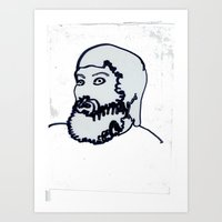 chad wys Art Prints featuring chad white by Chad M. White