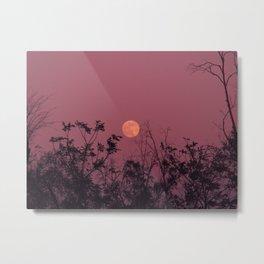 Morocco Magic Moon Metal Print