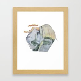 Yosemite National Park - Half Dome Framed Art Print