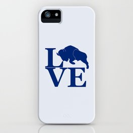 Lovin' Buffalo iPhone Case