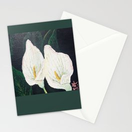 Calla Lily ... Winter Lilly Lily Lilies Lillies White Stationery Cards
