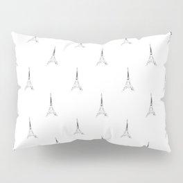 Paris Eiffel Tower Pattern Pillow Sham