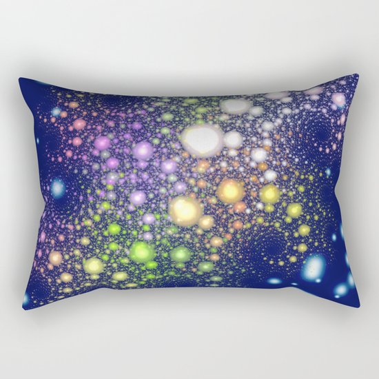 Space Pearls Rectangular Pillow