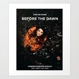 KateBush Apollo Before the dawn Poster movie Art Print