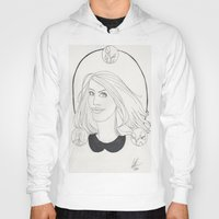 lydia martin Hoodies featuring Lydia by Wolfhearted