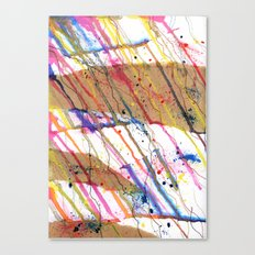 Mood Study (I) - Happy Canvas Print