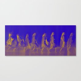 Walking women Canvas Print