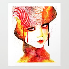 Fireflower Art Print