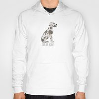 great dane Hoodies featuring Great Dane by 52 Dogs