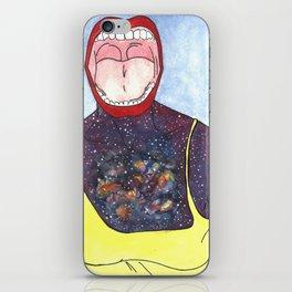 Galaxy Scream iPhone Skin
