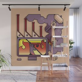 The Forge Wall Mural