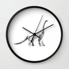 Diplodocus. Wall Clock