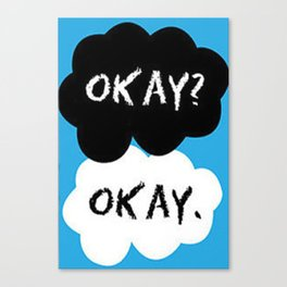 The Fault Of Our Stars Canvas Print