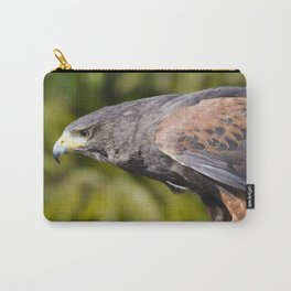 Harris Hawk stare Carry-All Pouch