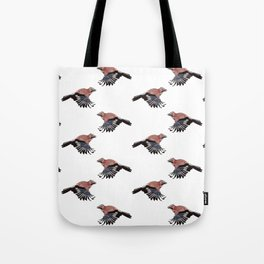 Pattern: Jay on white Tote Bag