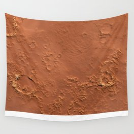 Mars Surface Wall Tapestry