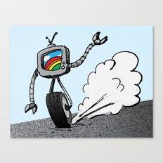 TVbot Canvas Print