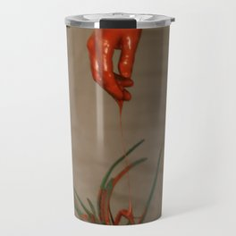 Rootless. Red hand Travel Mug