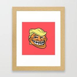 Trollin' Trump Framed Art Print