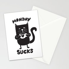 MONDAY SUX Stationery Cards