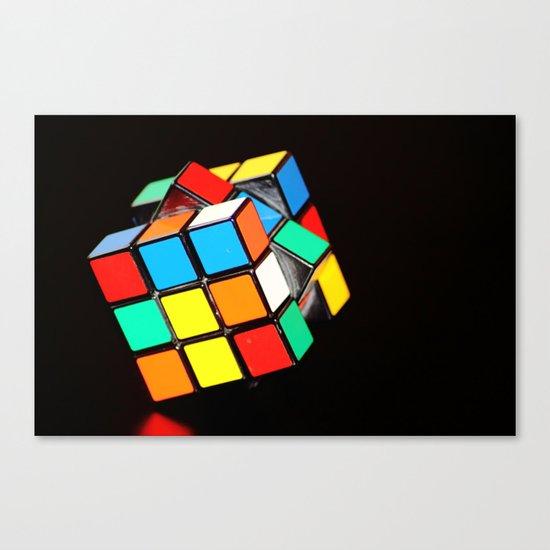 Cubic Cube Canvas Print