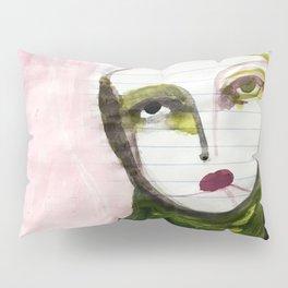 Portrait Lines Pillow Sham