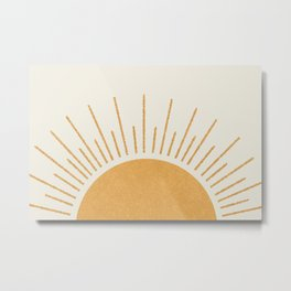 Sunshine Everywhere Metal Print