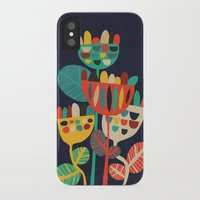 budi iPhone & iPod Cases featuring Wild Flowers by Picomodi