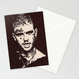 Lil Peep Poster Stationery Cards