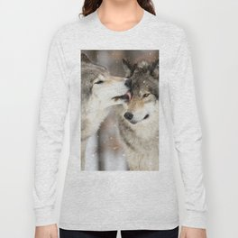 Wolf Kisses Long Sleeve T-shirt