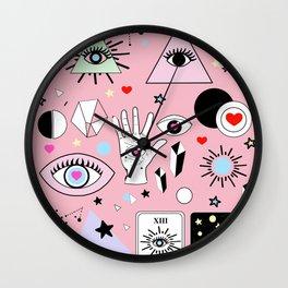 eye trick Wall Clock