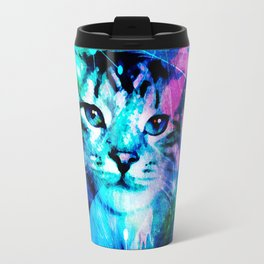 Kitty Cat Laser Lights at the Aleurorave Travel Mug