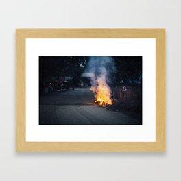 Asia 3 Framed Art Print