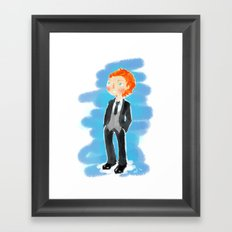 Tom Hiddleston - Ehehehe! Framed Art Print